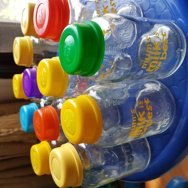 Botol Kaca Asip PAX 12pcs
