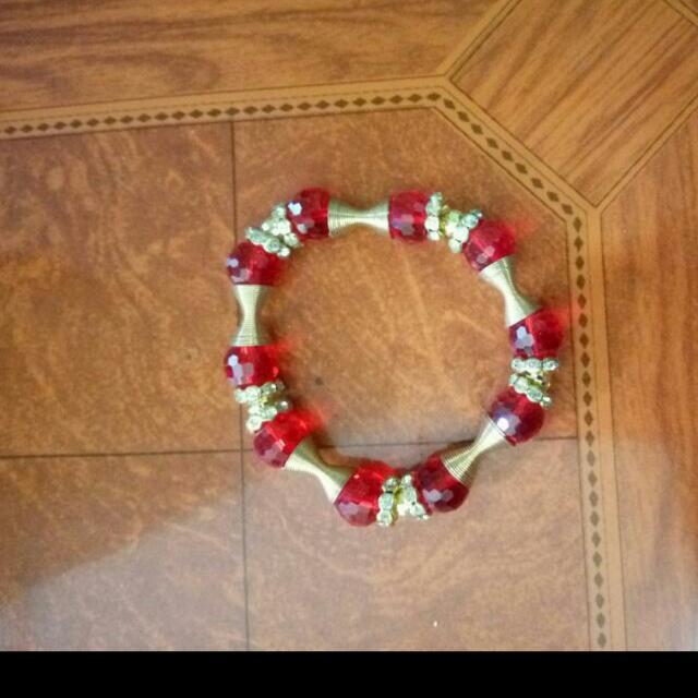 Charm Stone Bracelet