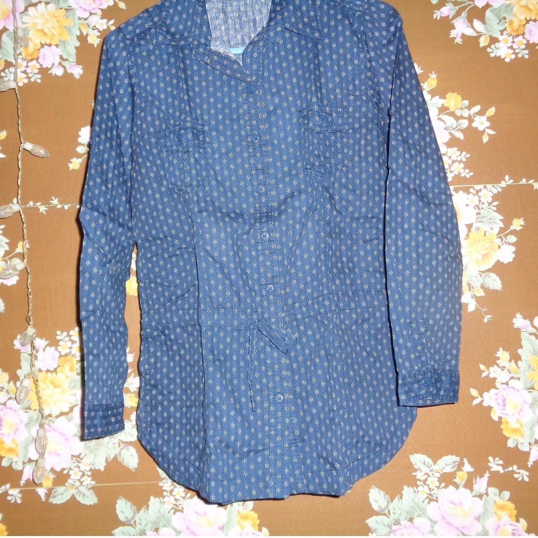 REPRICE Blue Long Sleeve