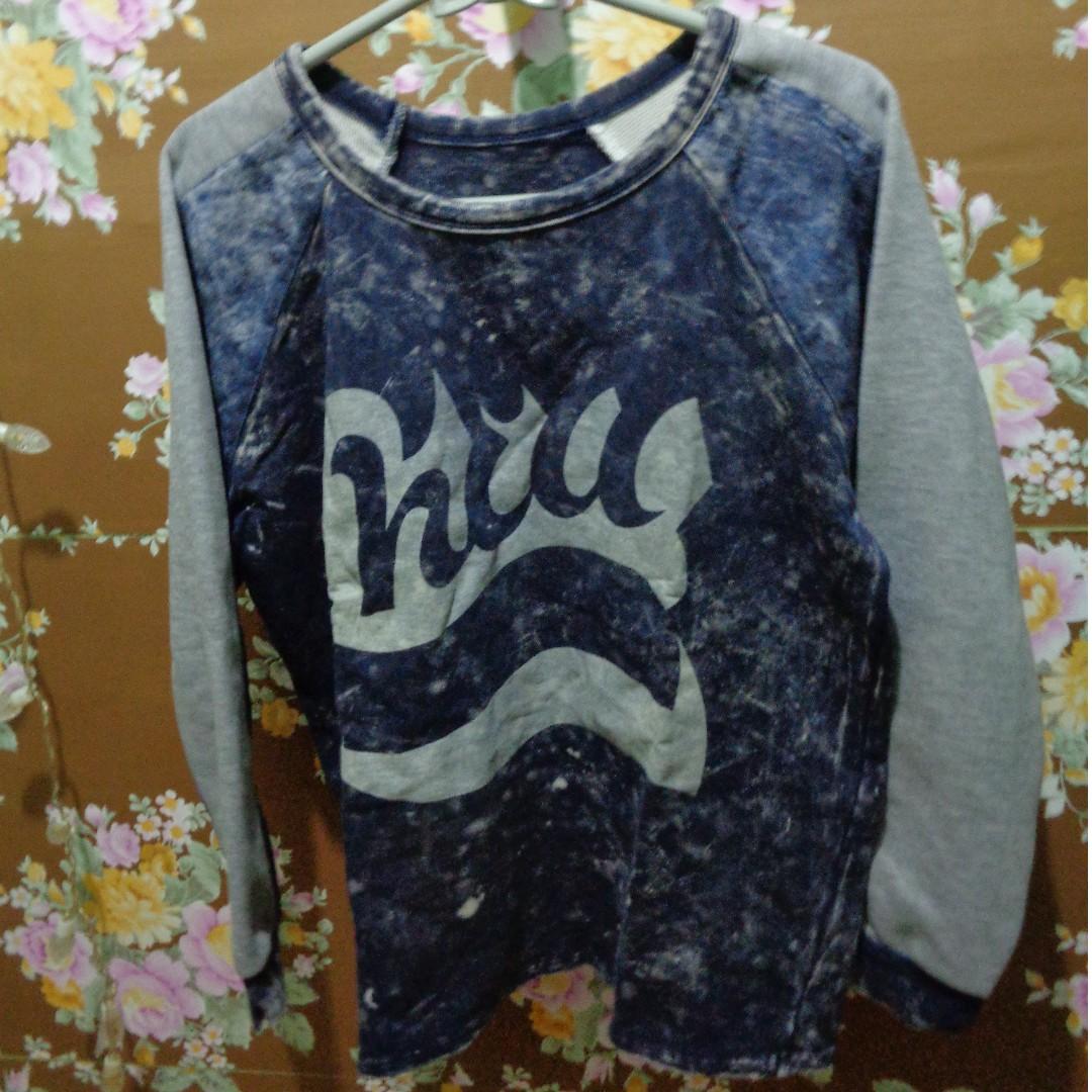 REPRICE Navy-Grey Sweater