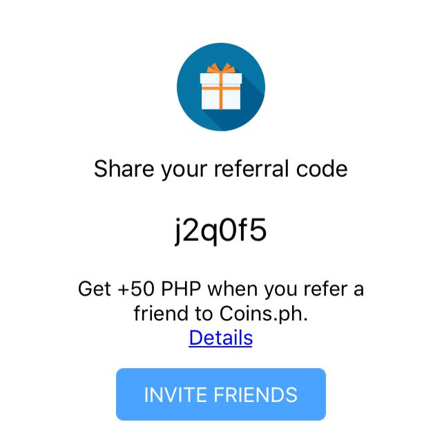 coins.ph referral code