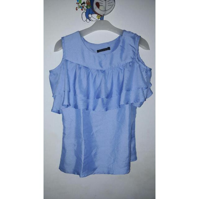 Cold Blouse - Biru