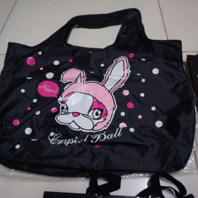 Crystal Ball 狗頭包購物袋