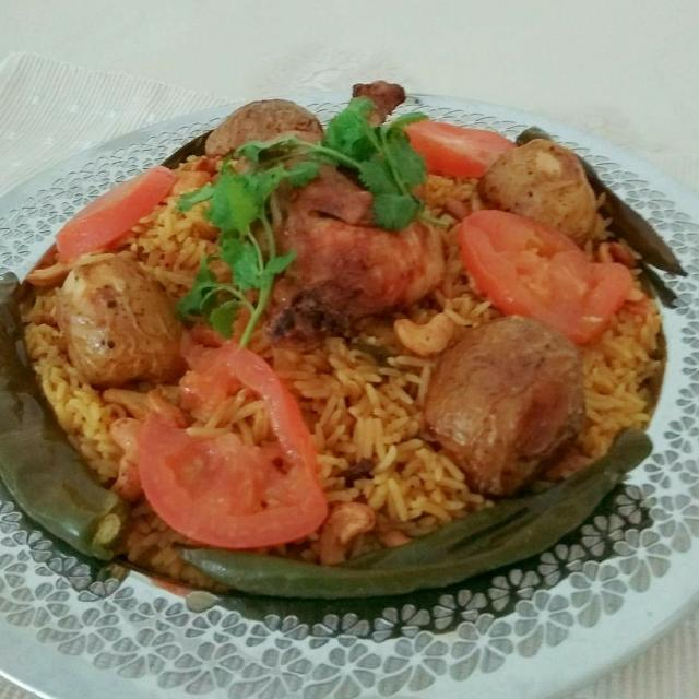Curry Rice With Spring Chicken And Potatoes