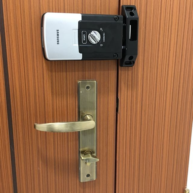 Digital Door Lock With Letter Box Number Lock Package! Home u0026 Furniture Others on Carousell & Digital Door Lock With Letter Box Number Lock Package! Home ... pezcame.com