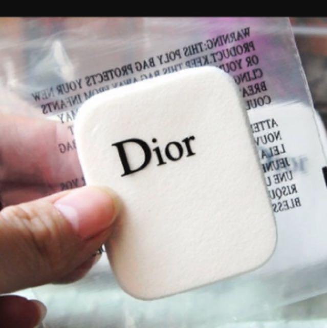 Dior 粉撲