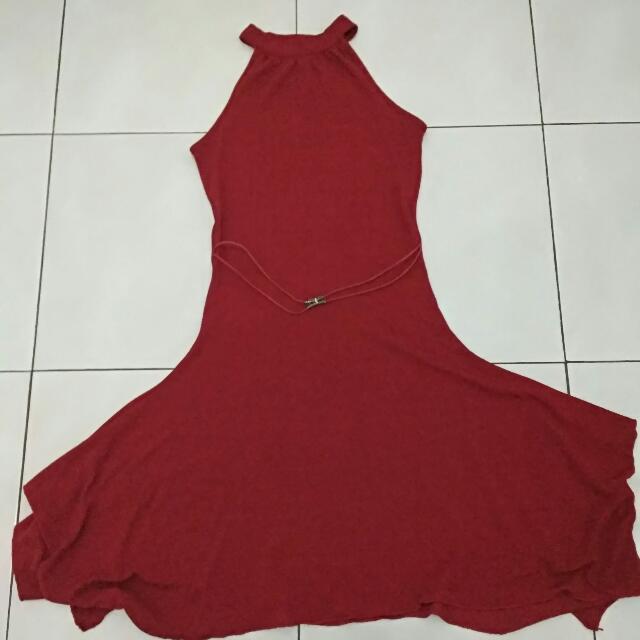 Reprice!! Dress Marun