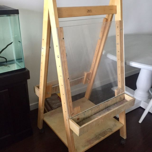 Dual Paint Easel