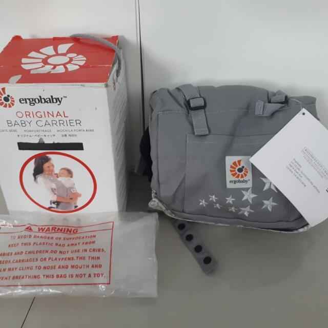 Ergobaby Baby Carrier Non Ori - Gendongan Bayi Kangguru - Brand New - Baru
