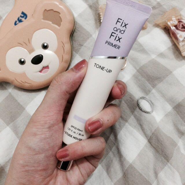 Etude House 繪色潤顏妝前乳 紫色 隔離乳 潤色 妝前乳 打底膏