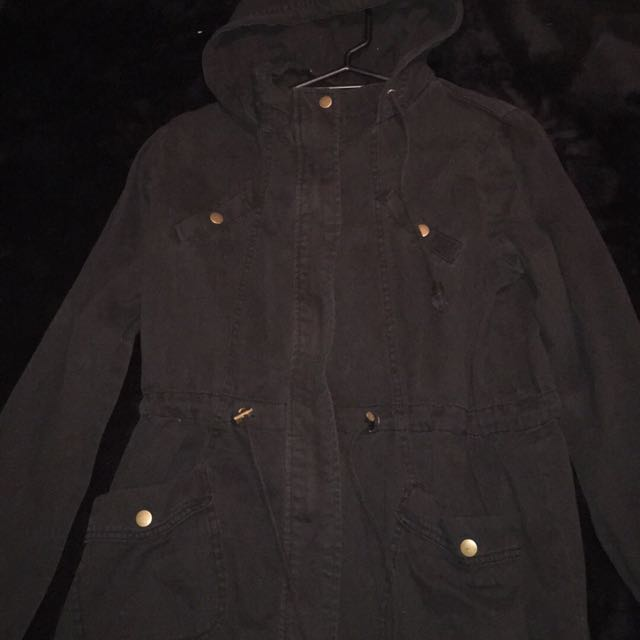 Factorie Denim Jacket (black)