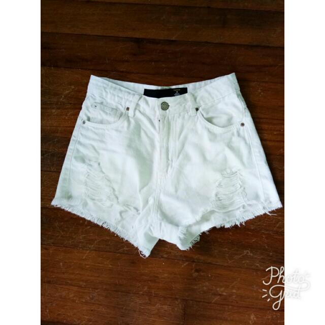 Factorie Distressed Shorts
