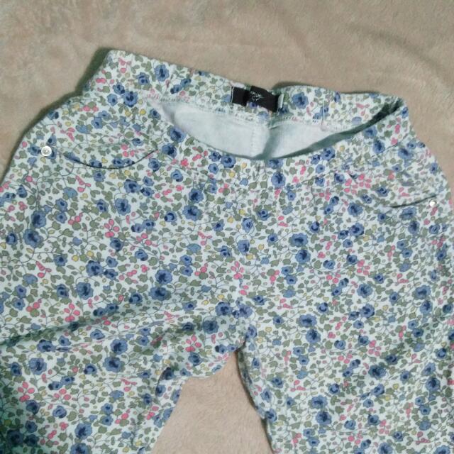 Floral Pants Leggings Type
