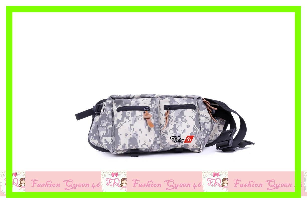 GARBG 5828 Tas Pinggang   Grey Comb SLING BAG WANITA  TANGA murah