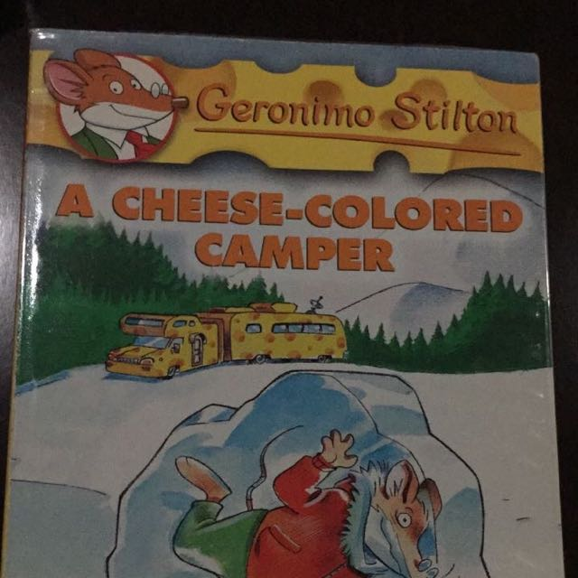 Geronimo Stilton Volume 16, A Cheese-Colored Camper - Scholastic