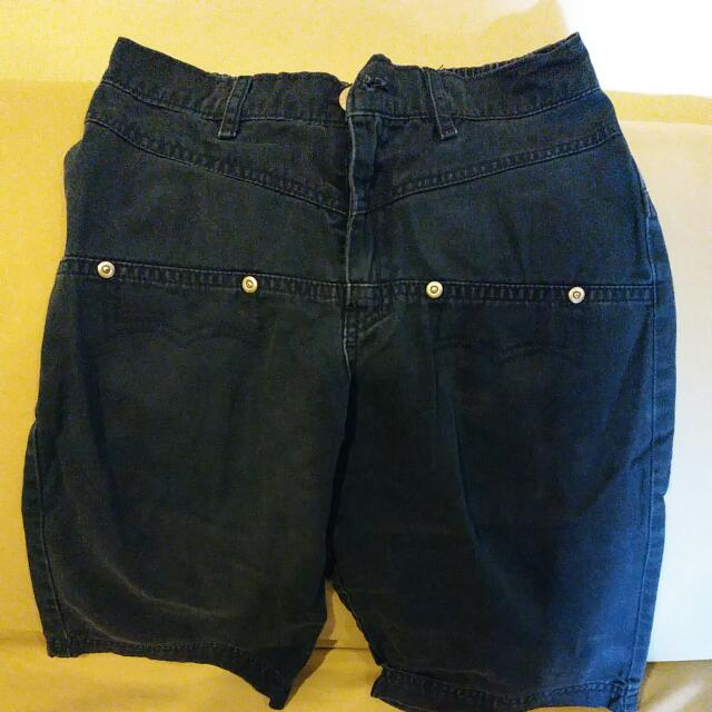 Gingersnaps Navy Blue Shorts