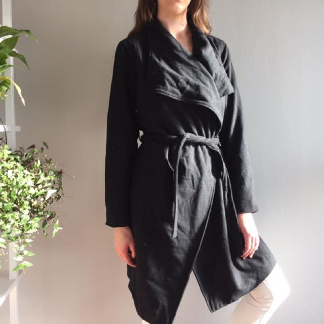 Glassons Black Winter Coat 🖤