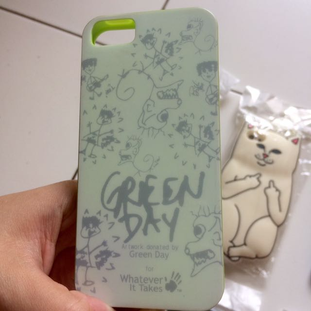 GREEN DAY CASE Iphone 5/5s/SE