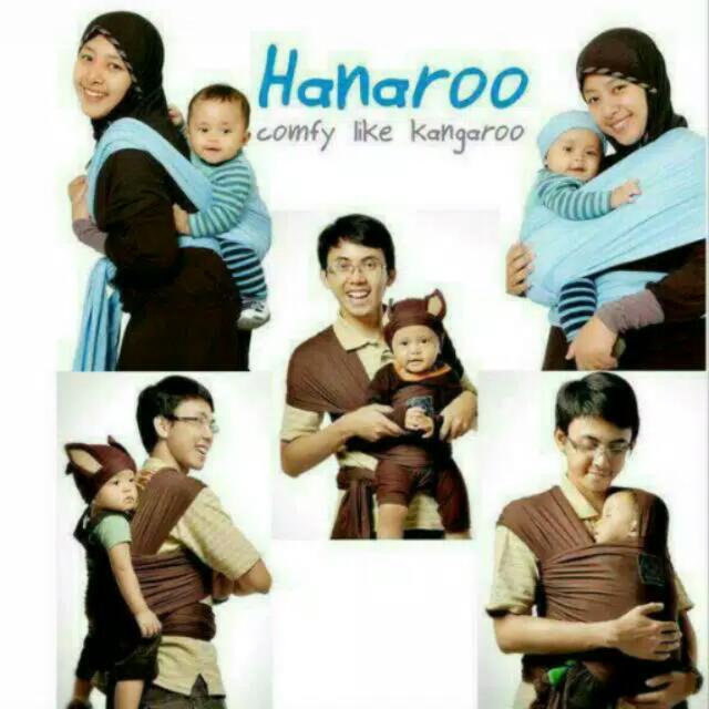 Hanaroo Baby Wrap -Maroon