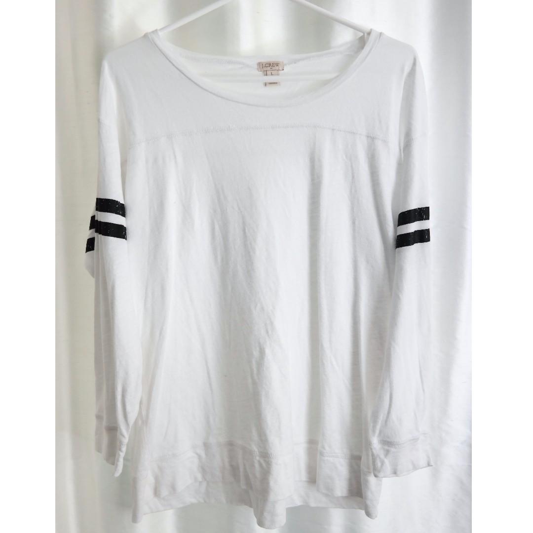 J. Crew Athletic Striped Shirt (80% Off!)