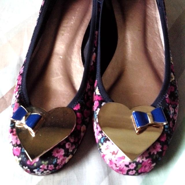 Jelly Beans Floral Shoes