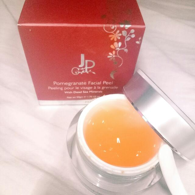 REPRICED Jericho Pomegranate Facial Peel With Dead Sea Minerals
