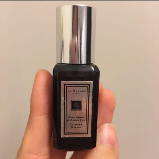 Jo Malone 黑瓶 黑琥珀與野薑花 9ml