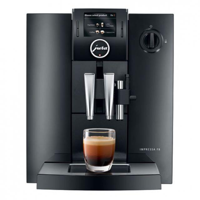 Jura Impressa F8 Coffee Machine RP$1850