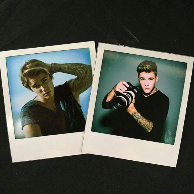 Justin Bieber Polaroids