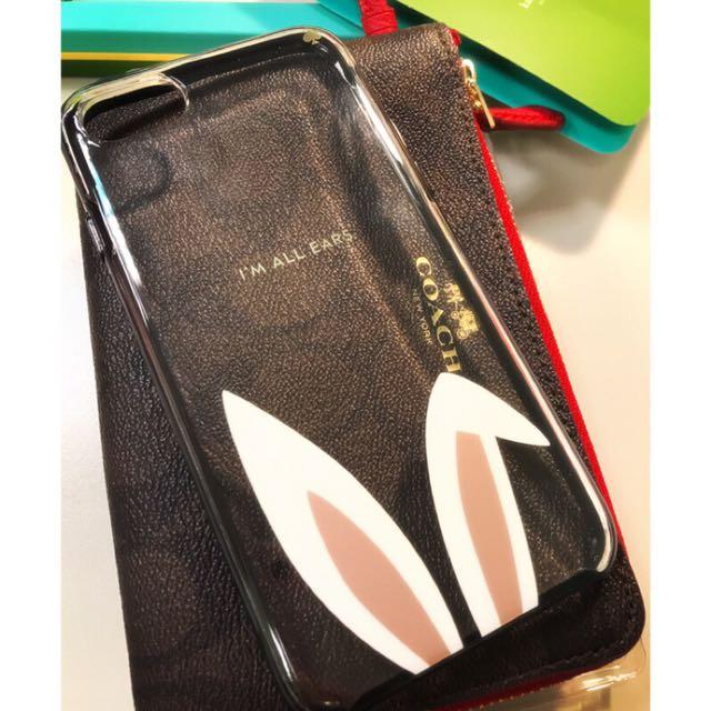 Kate Spade iPhone 7 兔耳朵手機殼