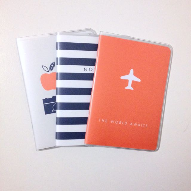 Kikki K Travel Pocket Sized Notebooks