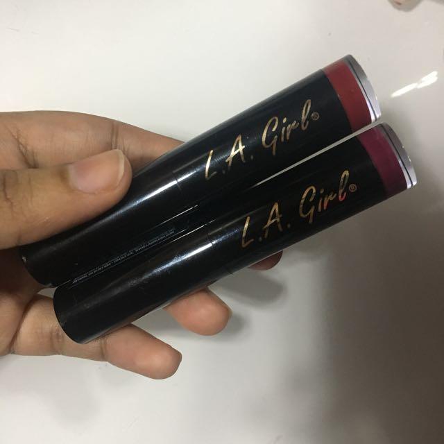 LA Girl Matte Flat Velvet Lipsticks