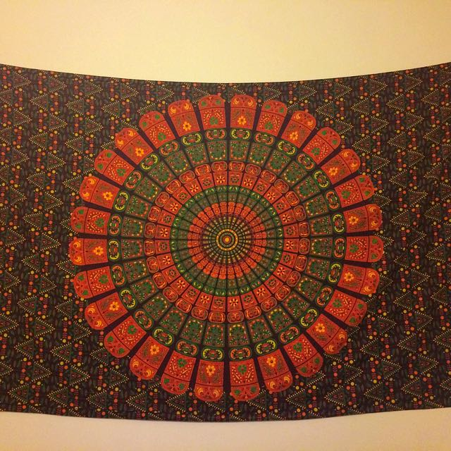 Large Hippy Wall Hanging Throw