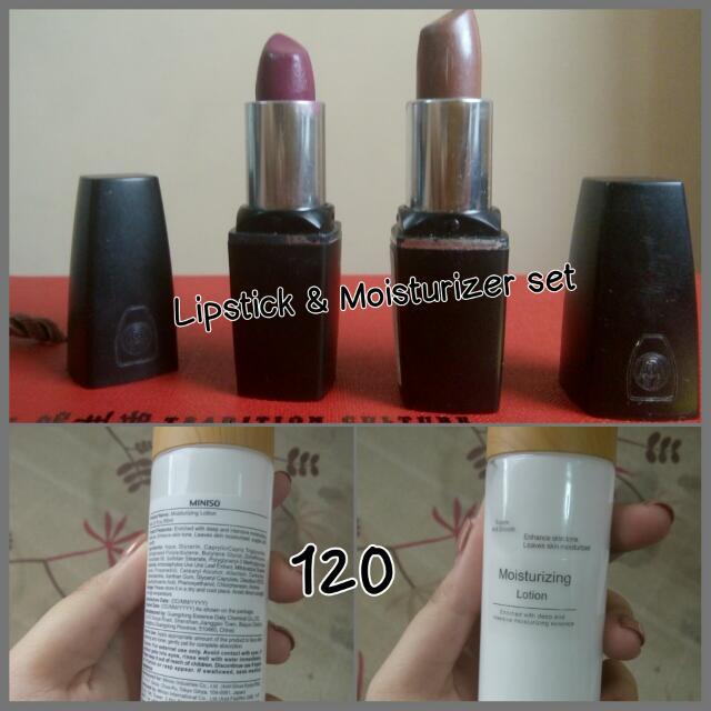 Lipstick & Moisturizer Set