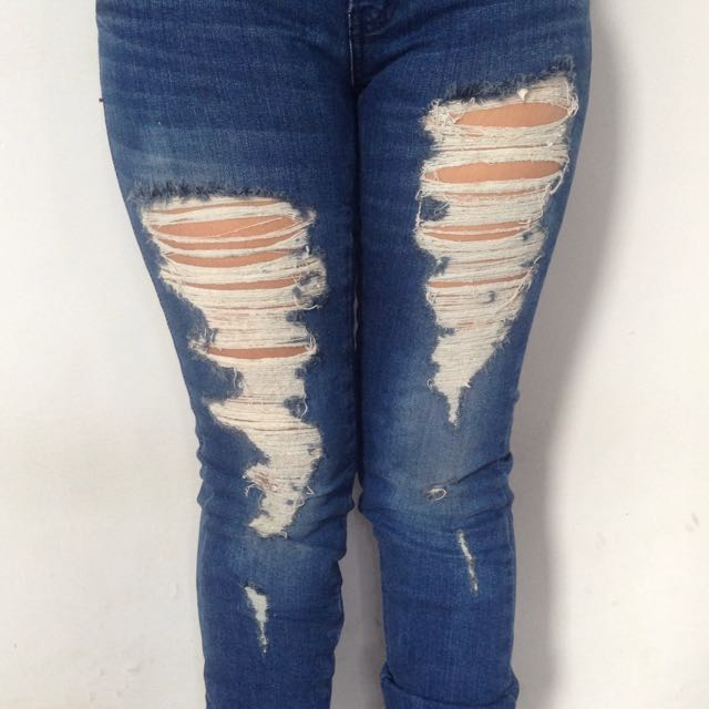 Long Jeans, Discovered, Celana Jeans