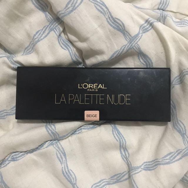 L'Oreal La Palette Nude In Beige