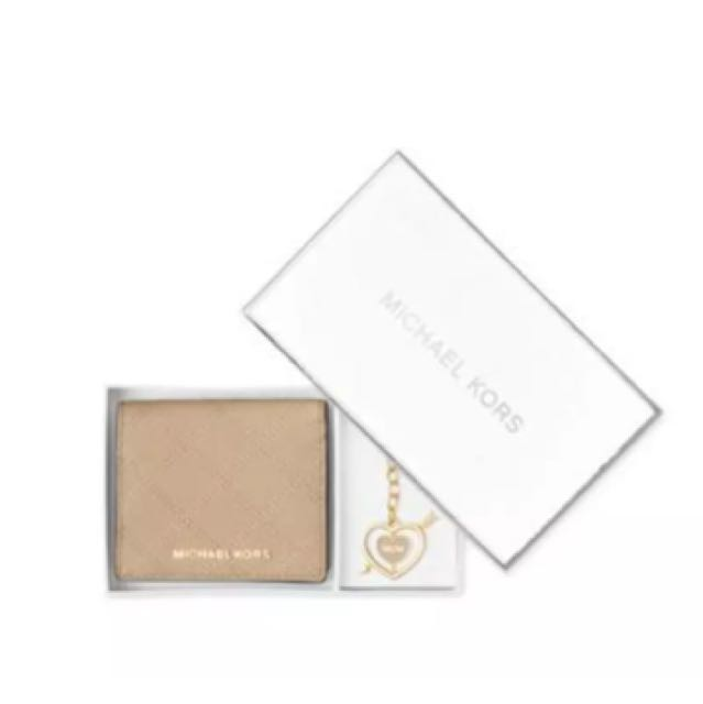 Micheal Kors wallet and key chain set