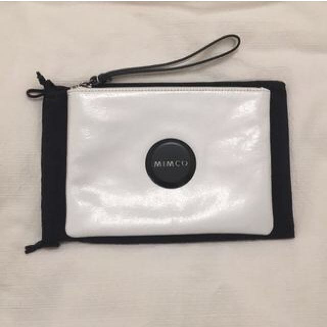 Mimco White Medium Pouch