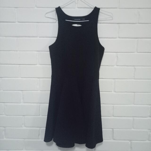 Mink Pink Black Dress