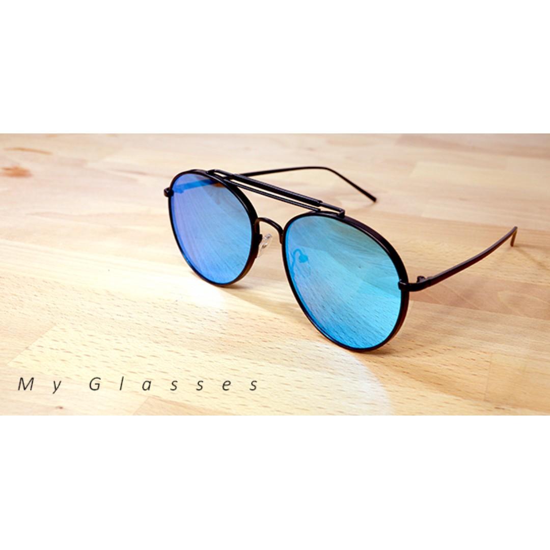 雷朋升級版墨鏡-太陽眼鏡-鏡框-復古-夏日-沙灘-My glasses個人眼鏡