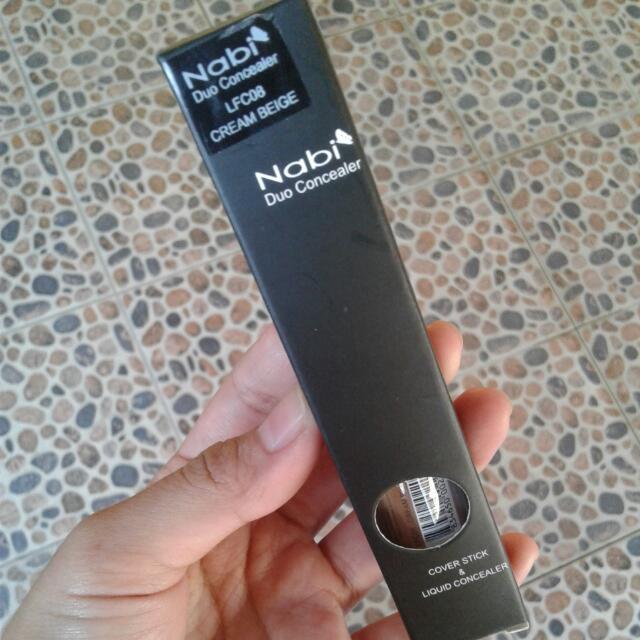 Nabi Duo Concealer Cream Beige