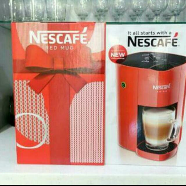 Maker Coffee Carousell Nescafe Mug Red On b7yf6g