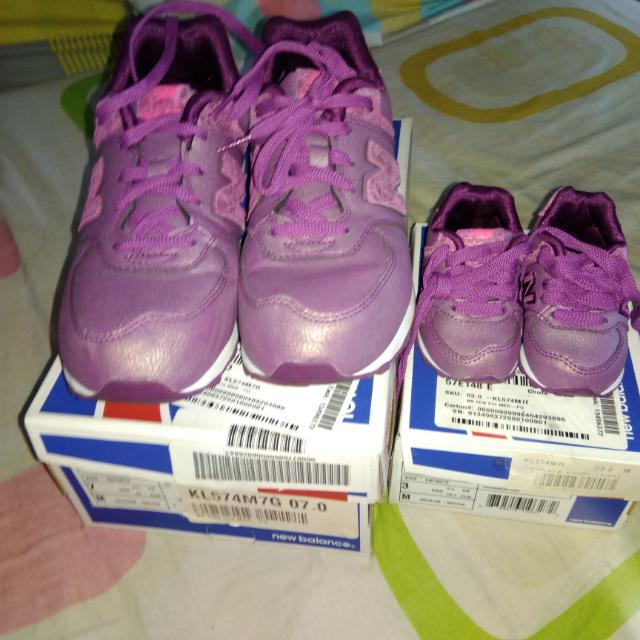 New Balance Shoes Mom And Baby Pair