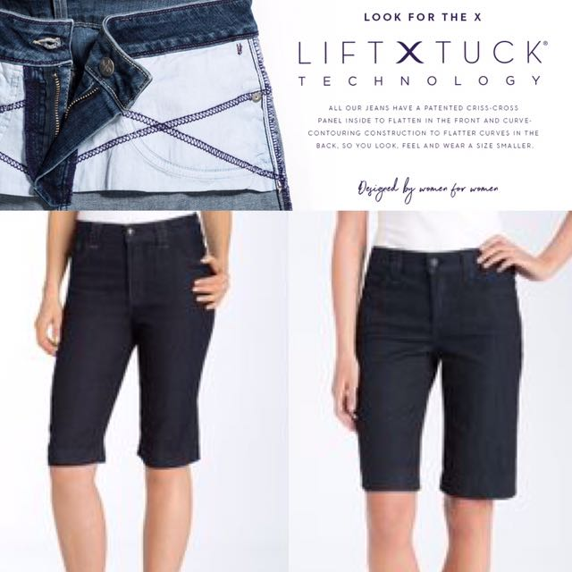 Not Your Daughter's Jeans $80 Hayden Walking Bermuda Shorts