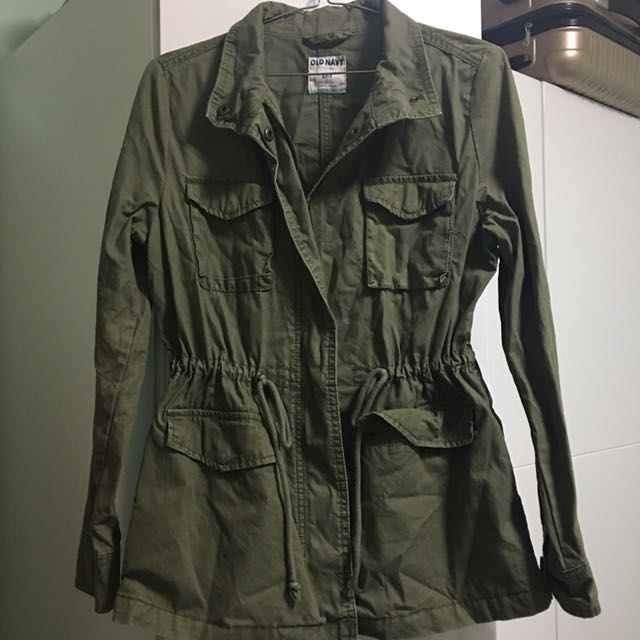 old navy (american brand owned by GAP) khaki anorak