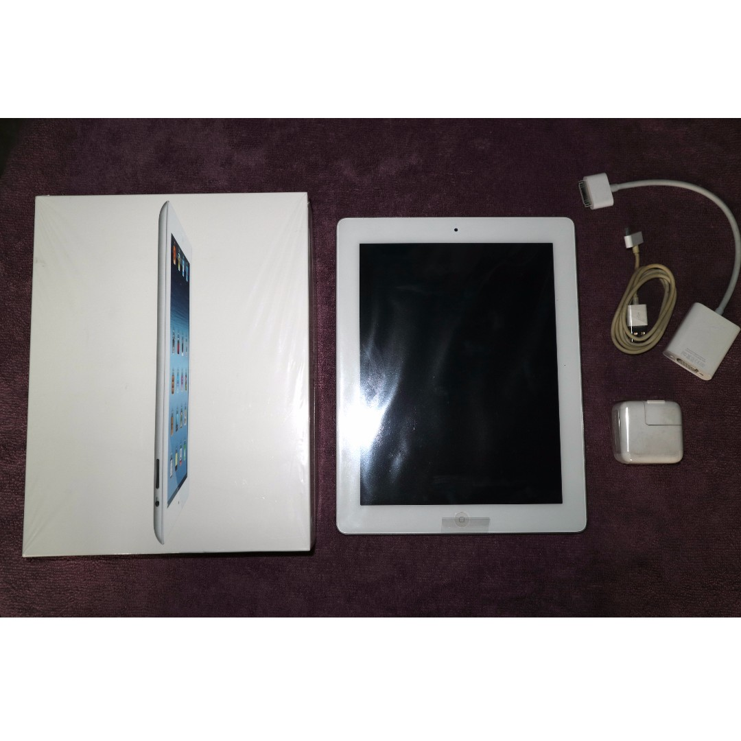 Original iPad wi-fi 16GB white