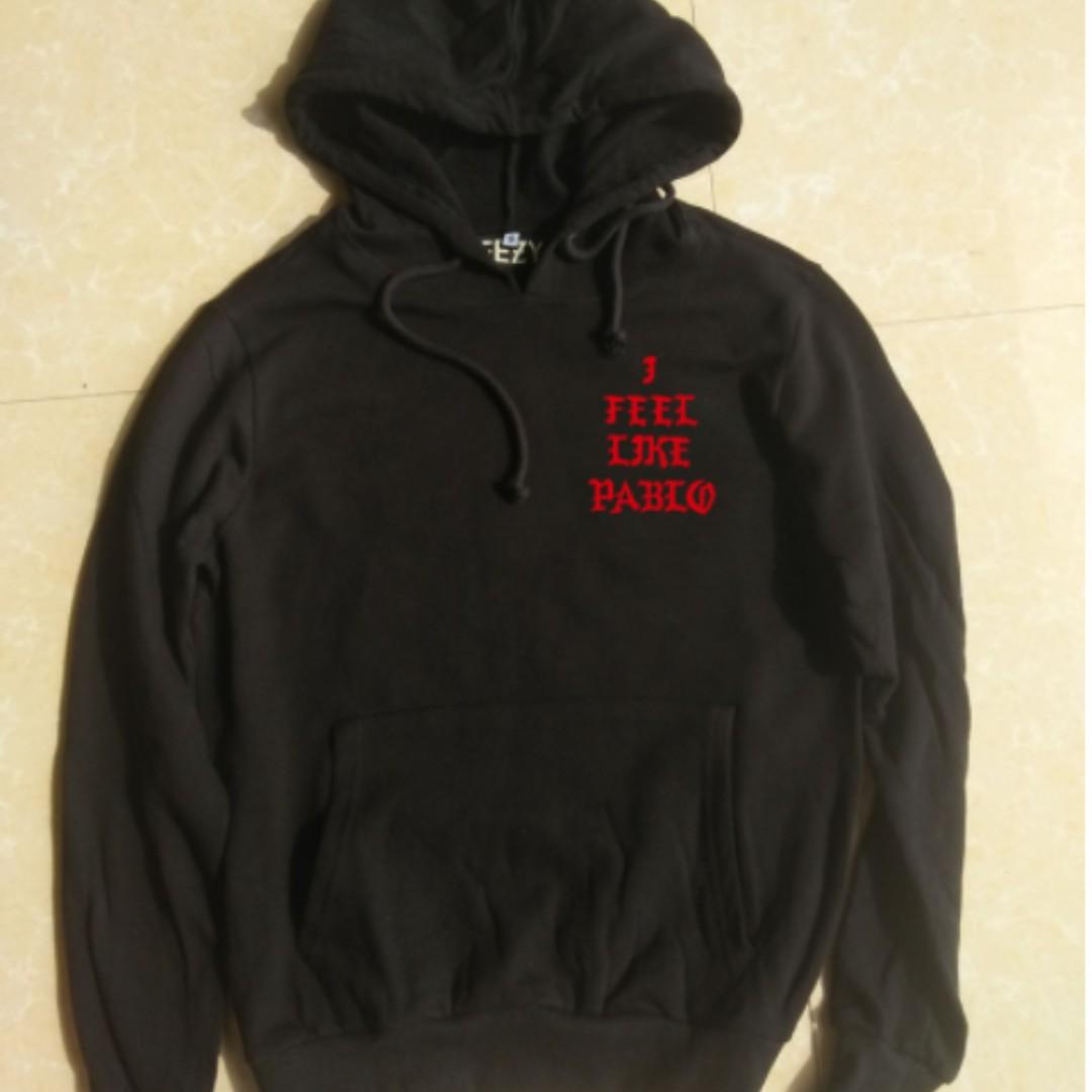 Pablo hoodie black/red
