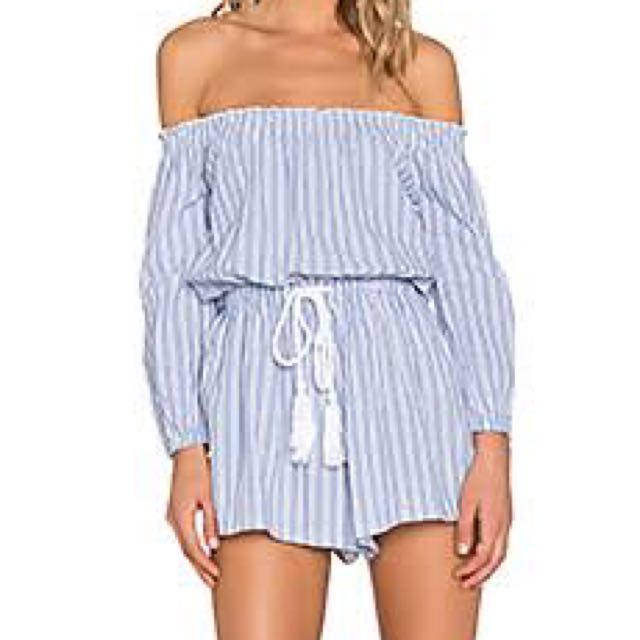 Playsuit Women's ! Striped