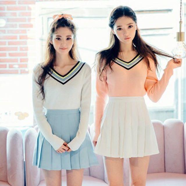 b3ebc329b8 po] tumblr/ulzzang pastel tennis skirt, Bulletin Board, Preorders on ...