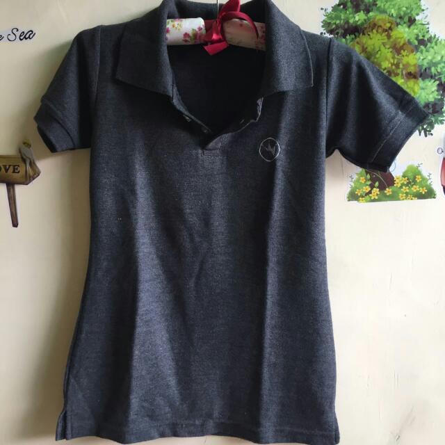 Polo Shirt Grey